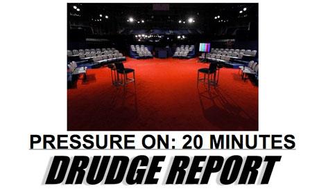 Drudge debate countdown