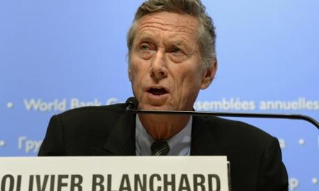 Olivier Blanchard, chief economist of the International Monetary Fund.