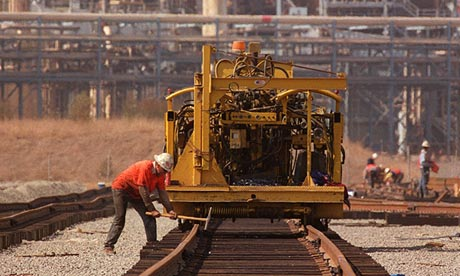 A railway engineer