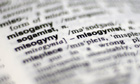 Misogyny definition in the Macquarie Dictionary