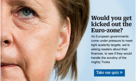 Eurozone personal finance quiz
