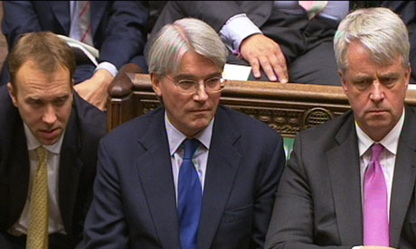 Andrew Mitchell at PMQs