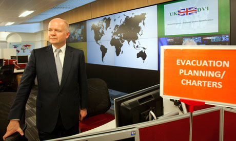 Foreign Office crisis centre