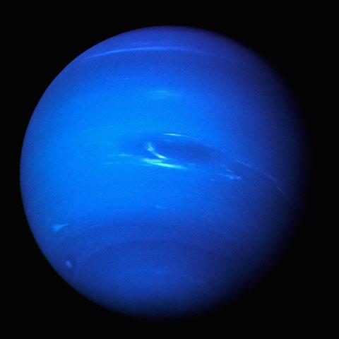 Neptune Glows a Brilliant 006