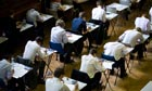 GCSE exam at Maidstone Grammar school, Kent