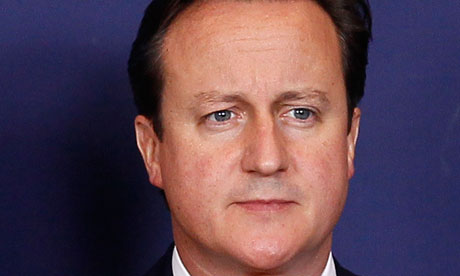 David Cameron dithers on EU ceremony