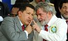 Hugo Chávez and Luiz Inácio Lula da Silva