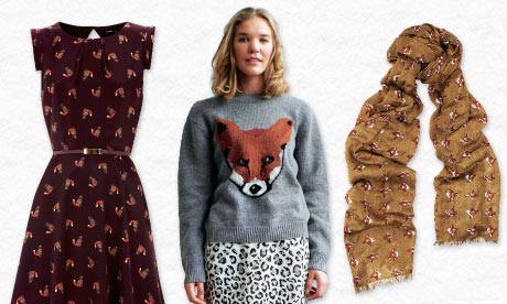 Fox prints clothes