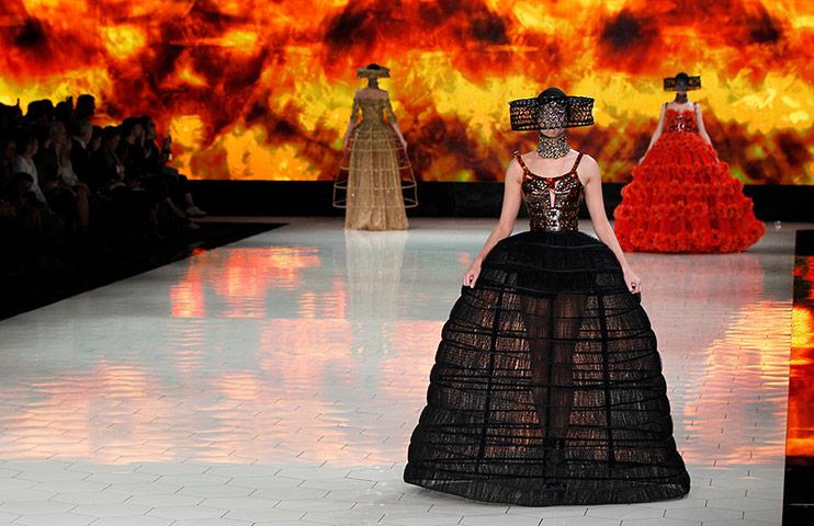 Sarah Burton for Alexander McQueen Spring/Summer 2013 collection