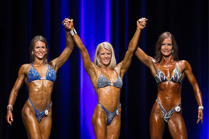 Bodybuilding: Swiss bodybuilding winner Simone Schneiter