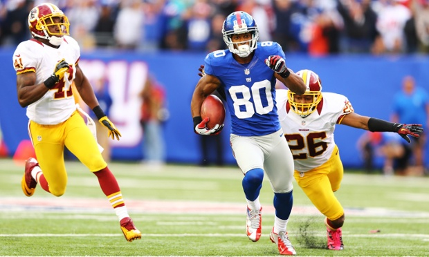 Victor Cruz cruises for a late fourth quarter 77-yard touchdown that puts the New York Giants ahead for good. They defeated the Washington Redskins on 27-23 on Sunday.