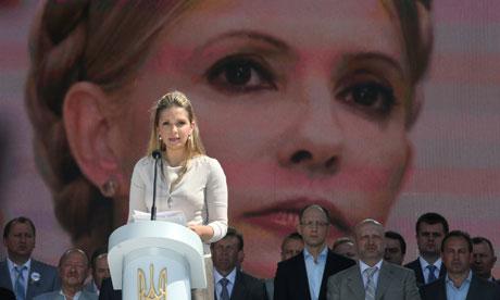 Yevgenia Tymoshenko, daugher of jailed ex-Ukrainian PM