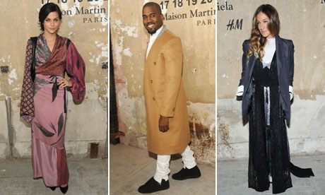 Leigh Lezark, Kanye West and Sarah Jessica Parker at
