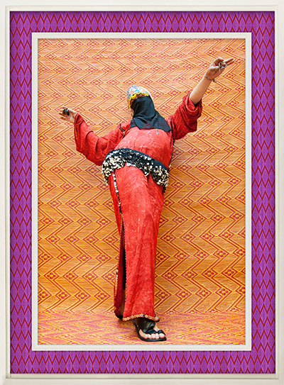 Hassan Hajjaj portraits: Man Bellydancer