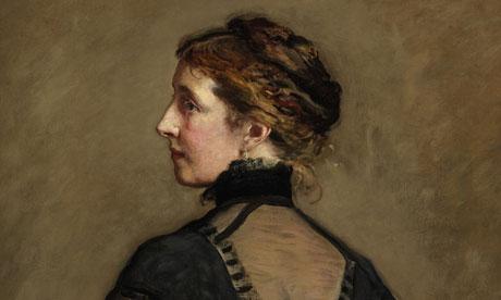 Portrait of Charles Dickens' daughter Katey Perugini, by SIr John Everett Millais