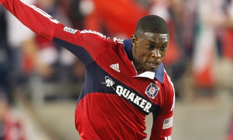 Jalil Anibaba Chicago Fire New England Revolution