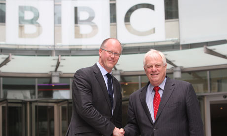 BBC bosses Lord Patten and George Entwistle