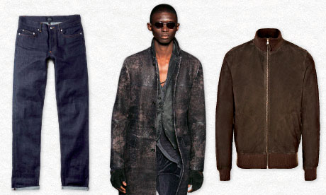 non-distressed mens clothing