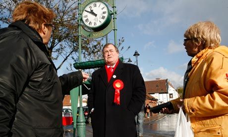 John Prescott on police commissioner campaign trail