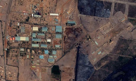 Yarmouk military complex in Khartoum, Sudan