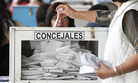 Chile municipal elections