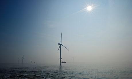London Array offshore wind farm