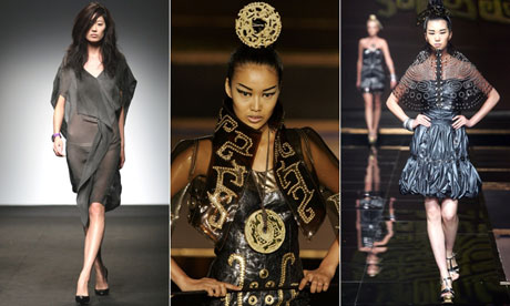 Popular Chinese Fashion Designers Five Chinese fashion designers
