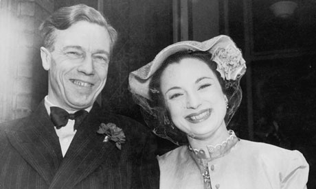 Cecil Day-Lewis and Jill Balcon