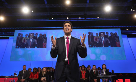 Ed Miliband at 2012 Labour conference