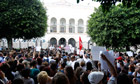 Tunis demonstration