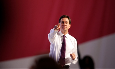 Ed Miliband answers questions from conference delegates.