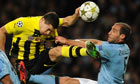 Football - UEFA Champions League Group D - Manchester City v Borussia Dortmund