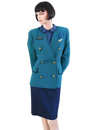 flight attendant uniforms through the decades in