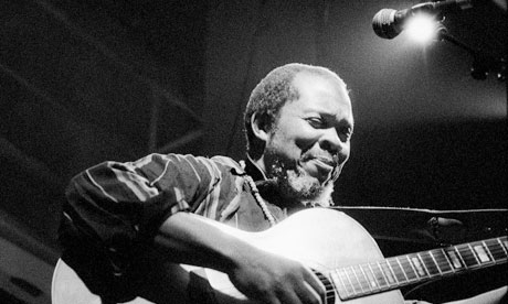Terry Callier at the Jazz Cafe in London in 2001. Photograph: David Levene
