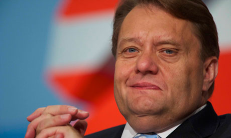 Conservative energy minister John Hayes