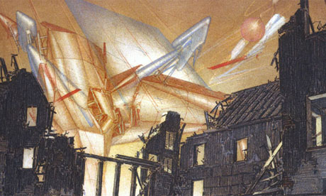 """""""War and Architecture 2-2"""", 1993, provoked by the war in Bosnia"""
