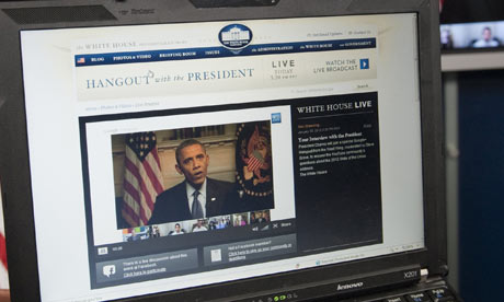 Obama YouTube Hangout. Online ad campaigns could play a key role in the US ...