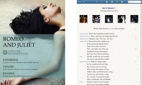 Screenshot of the app