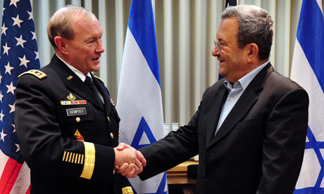 Gen. Martin Dempsey meets with Ehud Barak
