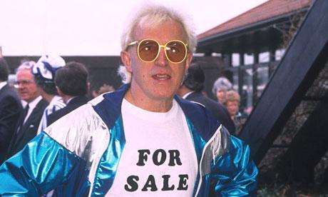 Jimmy Savile in 1987