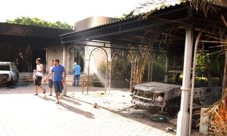 US consulate in Benghazi