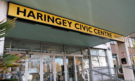 Haringey council office