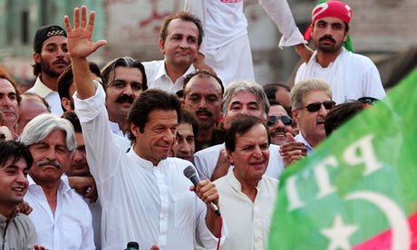 Imran Khan, head of Pakistan Tehreek-e-Insaf