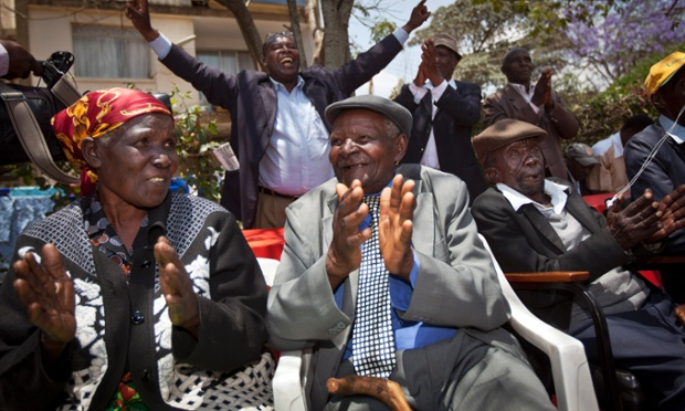 The High Court ruled Friday that the three Kenyans tortured during the Mau Mau rebellion against British colonial rule can proceed with compensation claims against the British government.