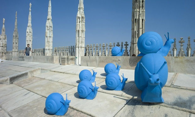 Milan cathedral art project