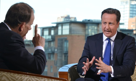 'These are very difficult times', the PM told Andrew Marr.