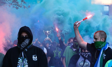 Seattle Sounders ECS Emerald City Supporters Cascadia Cup