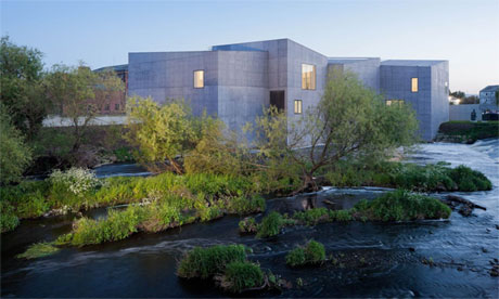 The Hepworth Wakefield, contender for the Stirling prize 2012