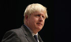 Boris Johnson and Michael Gove at Conservative party conference: Politics live blog