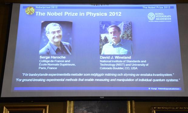 Physics Nobel announcement
